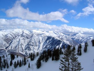 Robert Redford's Mountain Ski Resort is in a picturesque setting at the base of Mount Timpanogos. (Craig Davis/Craisglegztravels.com)