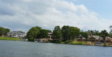 Lakeside mansions are a main attraction on the Winter Park Scenic Boat Tour. (Craig Davis/Craigslegztravels.com)