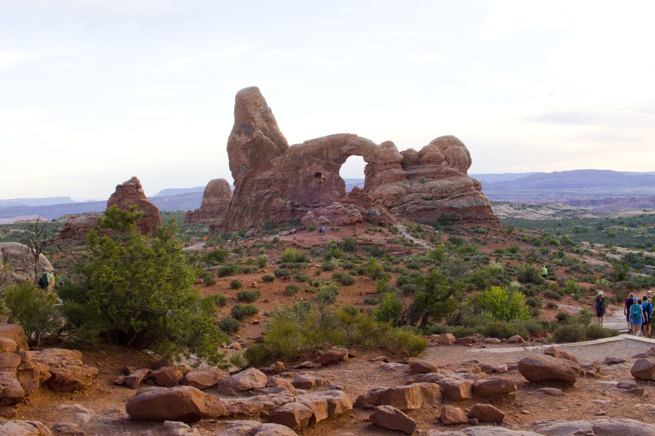 The Turret Arch is among 2,000 arches at Arches National Park in Utah. (Craig Davis/Craigslegztravels.com)