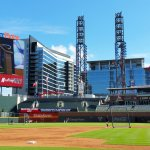Pregame at Atlanta's SunTrust Park during its inaugural season in 2017. (Craig Davis/Craigslegztravels.com)