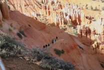 Hiking trails into Bryce Canyon provide an opportunity to mingle with the giant hoodoos. (Craig Davis/Craigslegztravels.com)