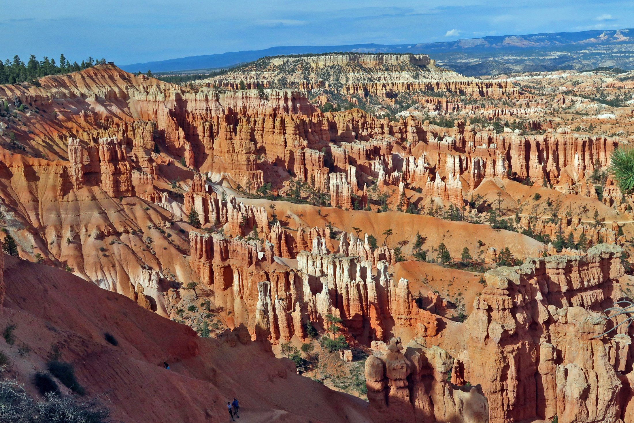 Sunset Point at Bryce Canyon offers a stunning view from above as well as extensive hiking opportunities amid the hoodoos. (Craig Davis/Craigslegztravels.com)