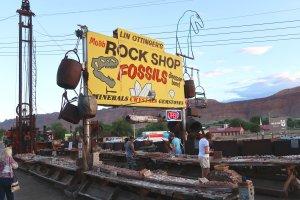 Rocks, fossils and dirt are revered in Moab, Utah, near Arches National Park. (Craig Davis/Craigslegztravels.com)