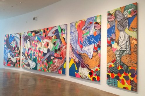 Frank Stella: Experiment and Change exhibit at NSU Art Museum Fort Lauderdale. (Craig Davis/Craigslegztravels.com)