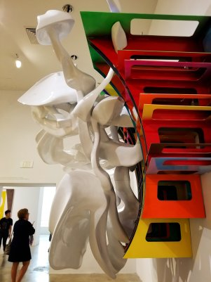 Frank Stella: Experiment and Change exhibit at NSU Art Museum Fort Lauderdale. (Fran Davis/Craigslegztravels.com)