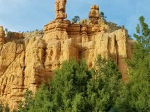 Not all the formations are red at Red Canyon near Bryce Canyon National Park in Utah. (Fran Davis/Craigslegztravels.com)