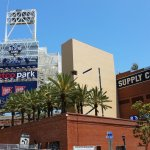 Outside Petco Park in San Diego. (Craigslegztravels.com)