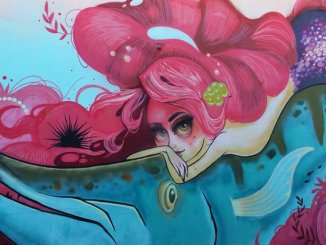 Tati Suarez's Mermaids at Play is one of the popular features of the Hollywood (Fla.) Downtown Mural Project. (Craig Davis/CraigslegzTravels.com)