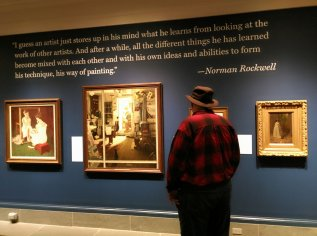 The Norman Rockwell Museum in Stockridge, Mass., features the largest collection of Rockwell art. (Craig Davis/CraigslegzTravels.com)