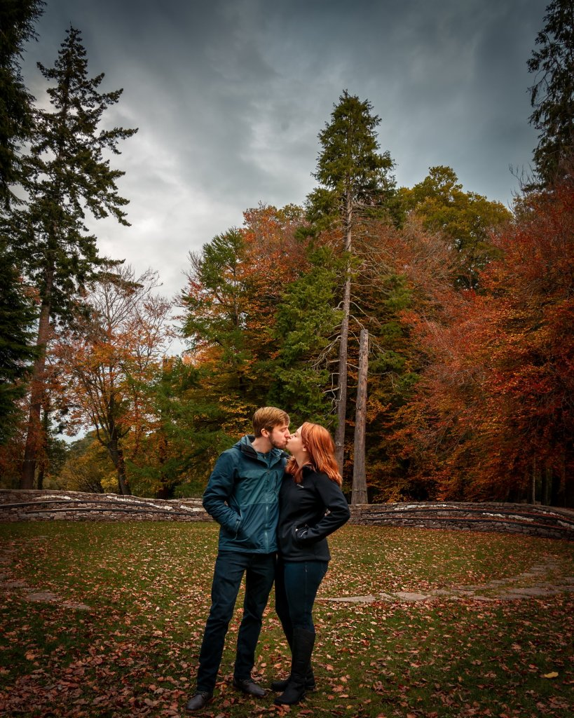 Glenn and Lara Davis found autumn to be an ideal time to experience the full color of Scotland. (Glenndavisphotography.com)