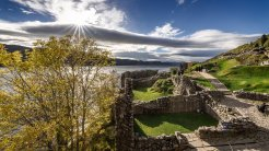 The ruins of Urquhart Castle, overlooking Loch Ness, date to the 13th Century. (Glenn Davis/Glenndavisphotography.com)