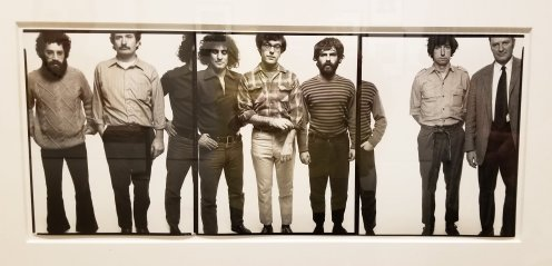 The famous Richard Avedon photo of the Chicago Seven is on display at the Norton Museum. (Fran Davis/Craigslegztravels.com)