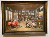 The Interior of a Nobleman's Gallery is a 17th Century painting at the Norton Museum in West Palm Beach. (Craig Davis/Craigslegztravels.com)