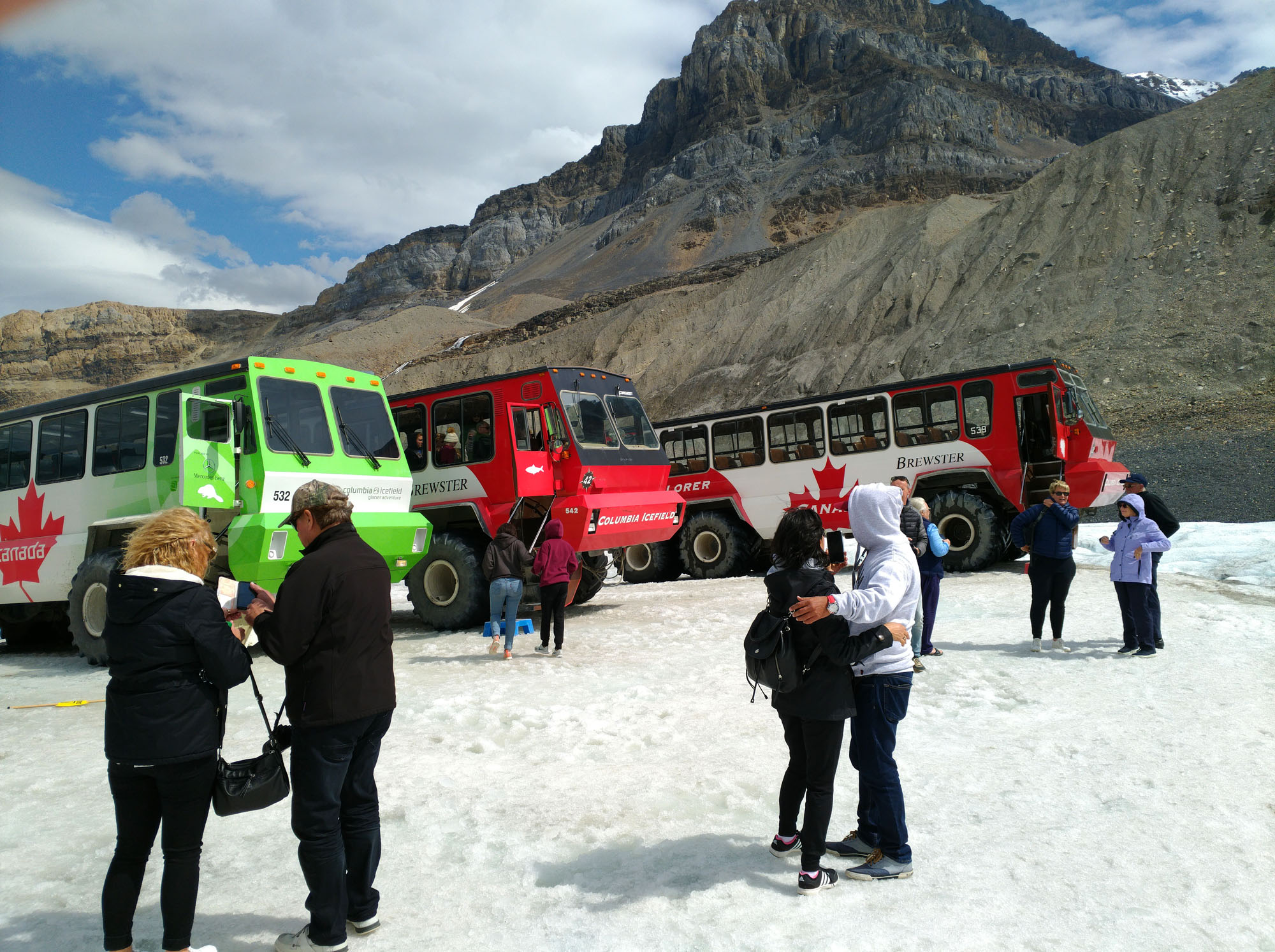The Columbia Icefield Adventure to Athabasca Glacier is one of the most popular tourist activities in the Canadian Rockies. (Craig Davis/Craigslegztravels.com)
