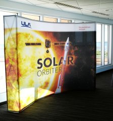The Solar Orbiter probe will pass within 26 million miles of the sun and must withstand temperatures up to 970 degrees on a mission to learn more about our vital star. (Craig Davis/Craigslegztravels.com)