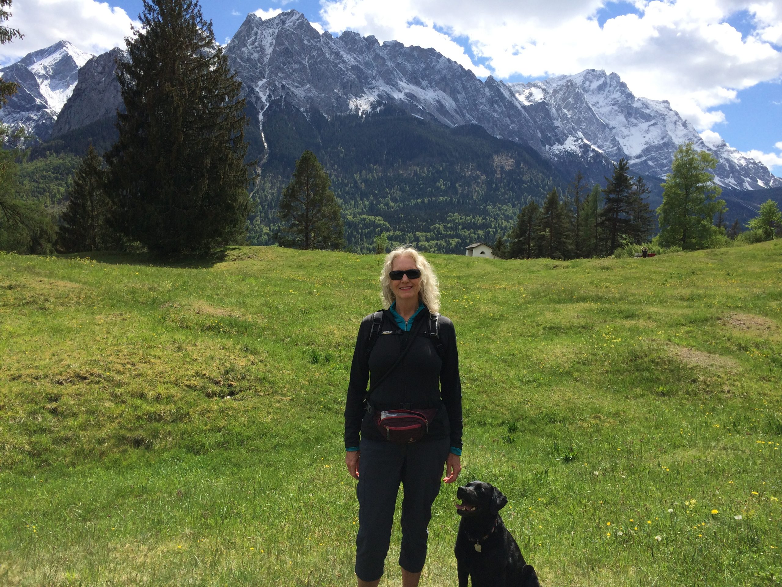 Cher Woywod back home in the Bavarian Alps of Germany. (Courtesy/Woywod family)