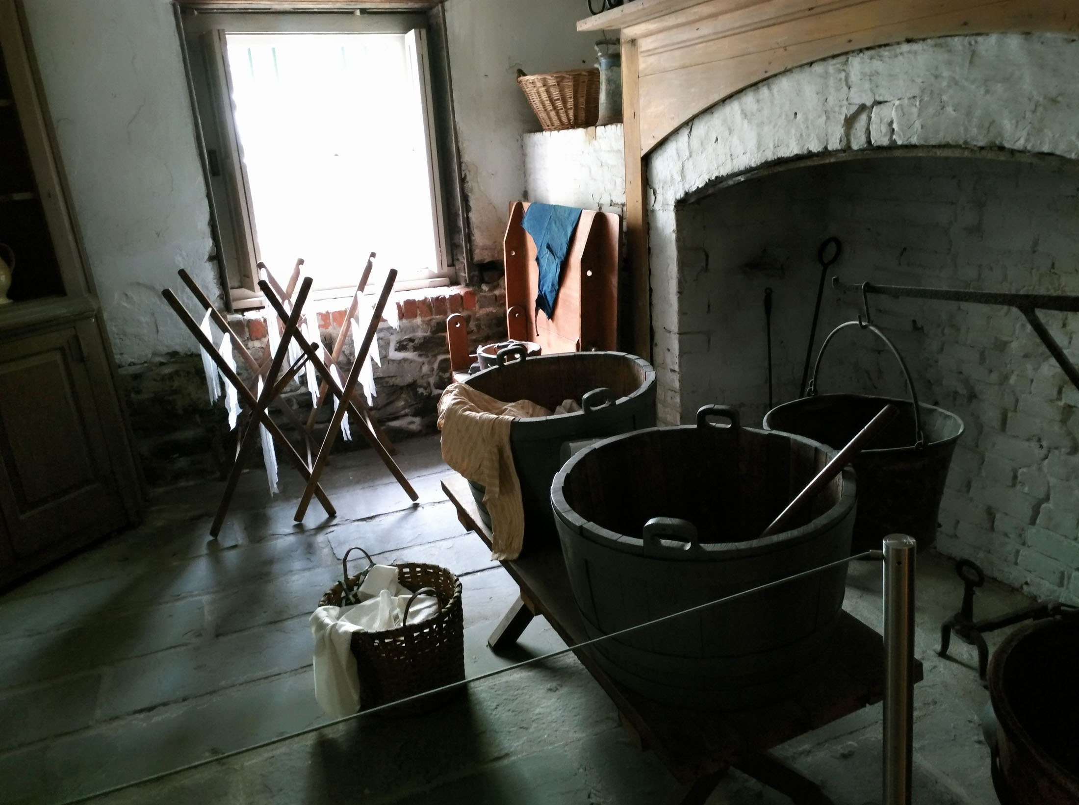 Enslaved people worked long hours in the heat in the cellar of the Owens-Thomas house. Only recently has that story been told on the historic tour. (Craig Davis/Craigslegztravels.com)