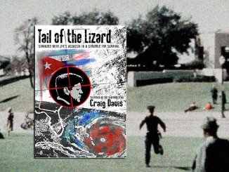 'Tail of the Lizard,' a suspense novel by Craig Davis revisits the JFK assassination conspiracy 30 years later.