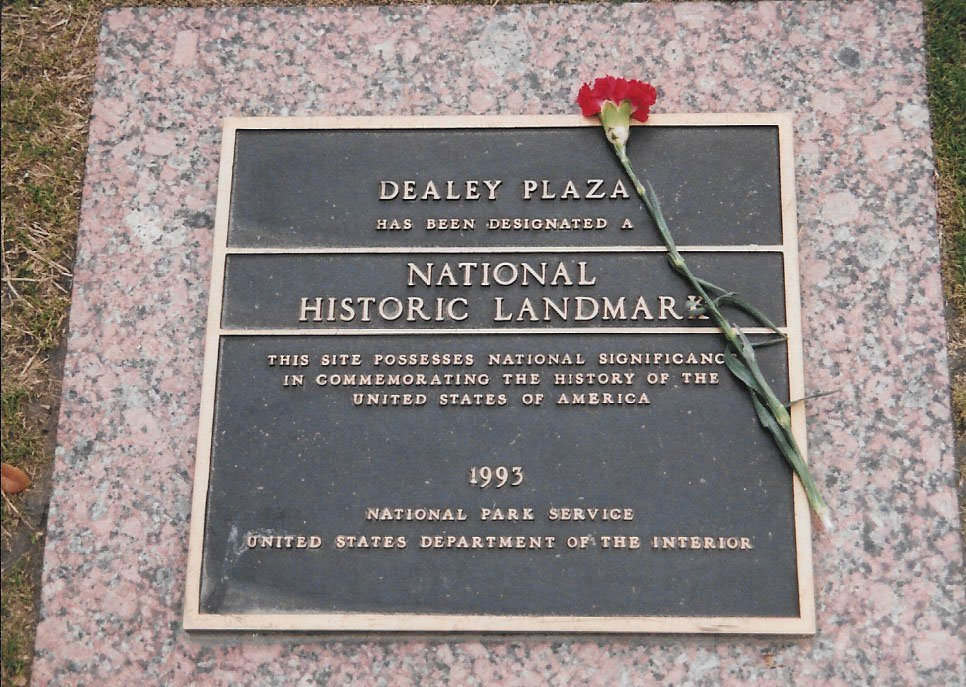 Dealey Plaza, where President John F. Kennedy was assassinated in Dallas, has been designated as a National Historic Landmark. (Craig Davis/Craigslegztravels.com)