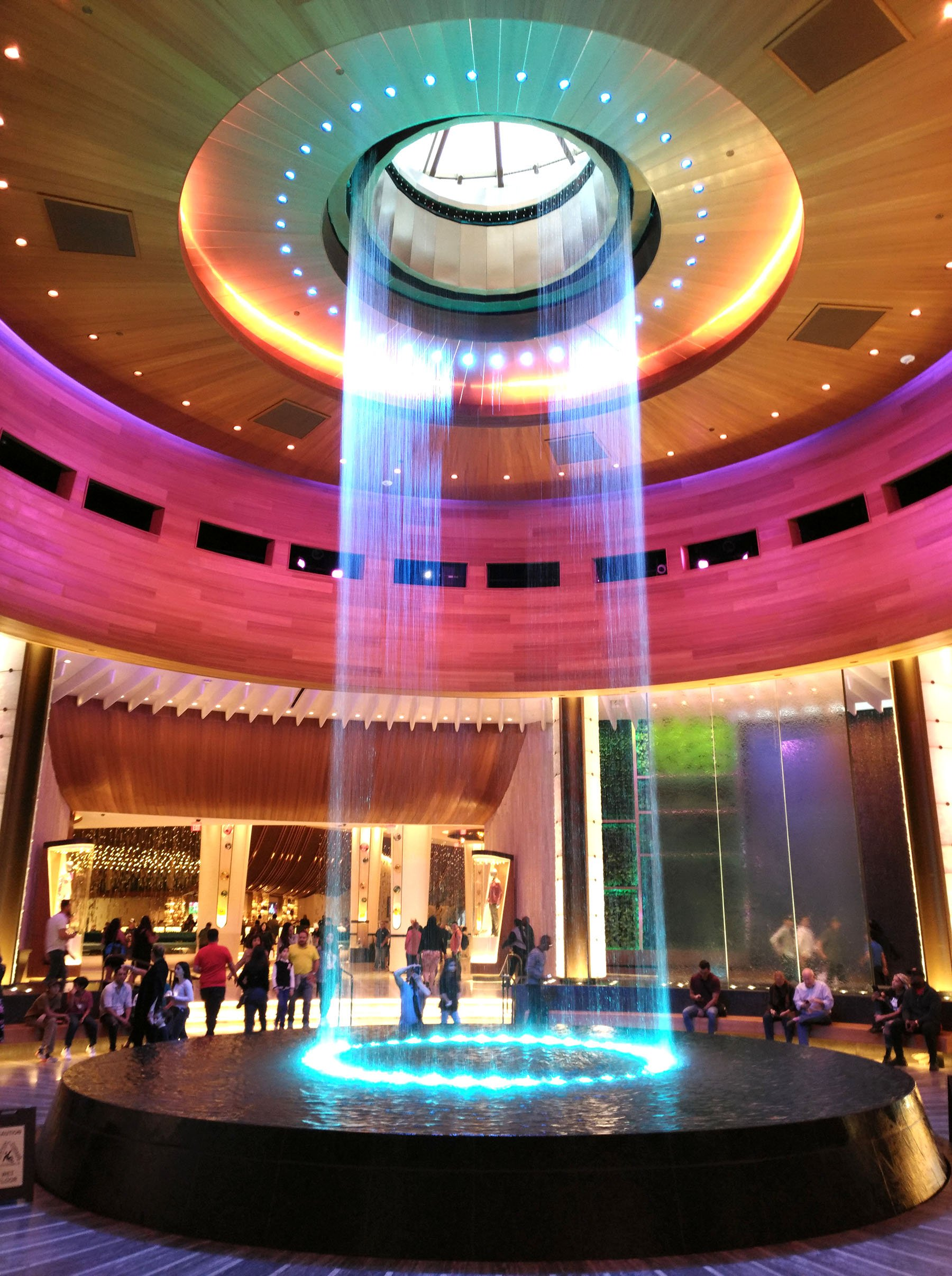 The Oculus is a central feature at the Guitar Hotel at Seminole Hard Rock in Hollywood, Fla. (Craig Davis/craigslegztravels.com)