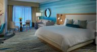 One of the 638 rooms and suites at the Guitar Hotel at Seminole Hard Rock in Hollywood, Fla. (Courtesy Seminole Hard Rock)