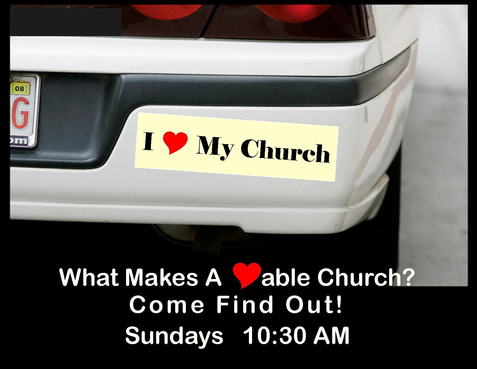 I Heart My Church