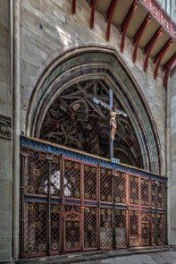 Screen inside West Portal