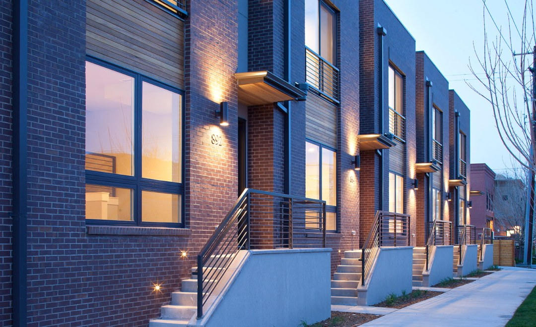 Craine Architecture's Townhome Design