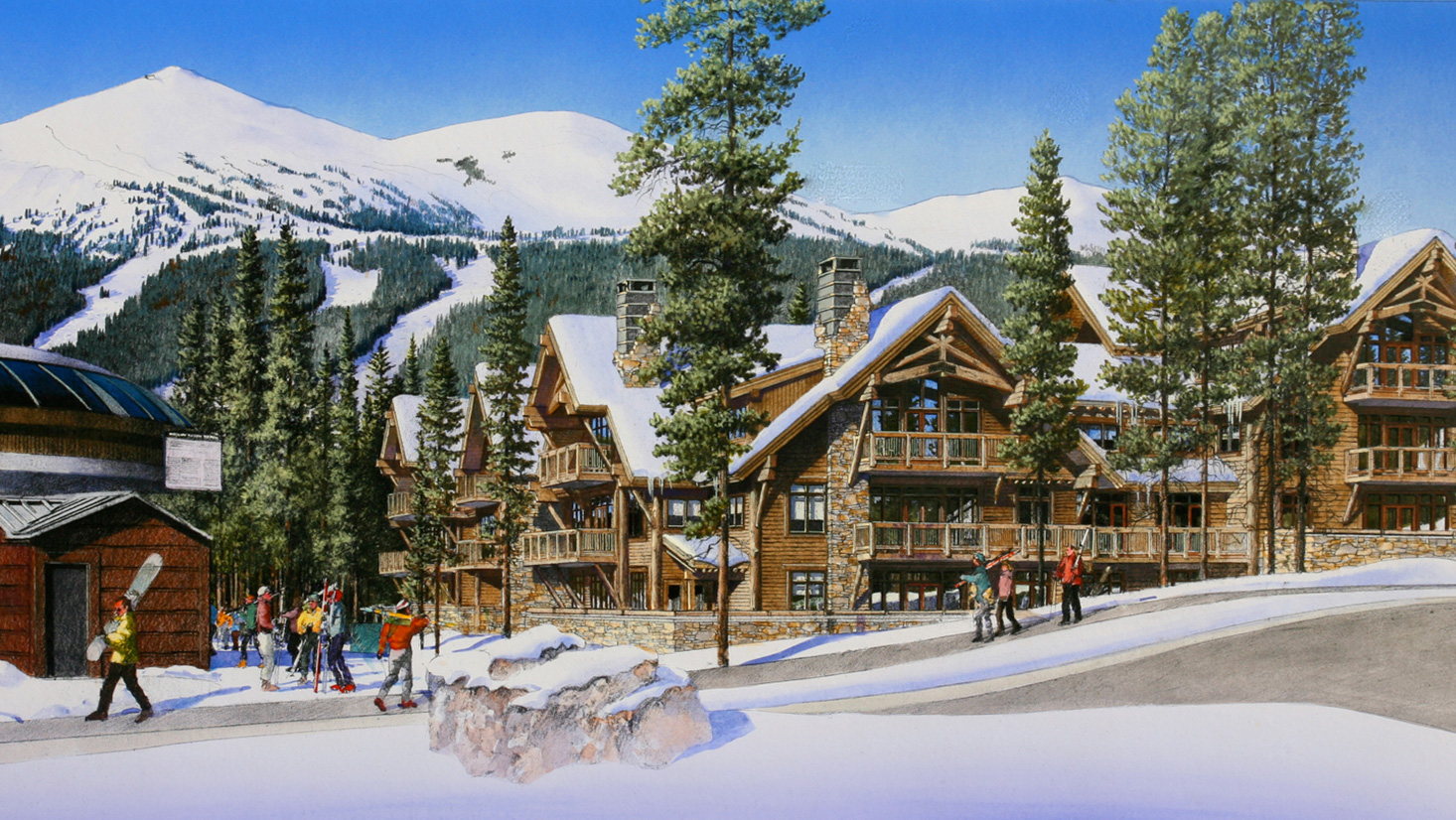 Breckenridge Resort Rendering -Craine