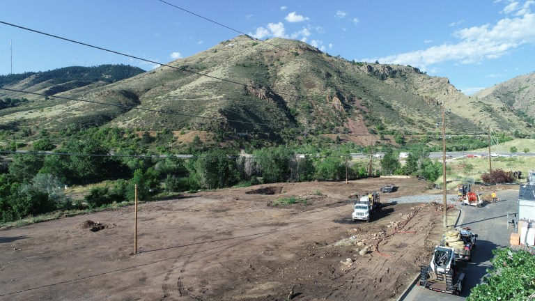 Basecamp Excavation