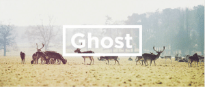 ghost blogging platform