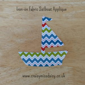 craisymissdaisy iron on fabric sailboat