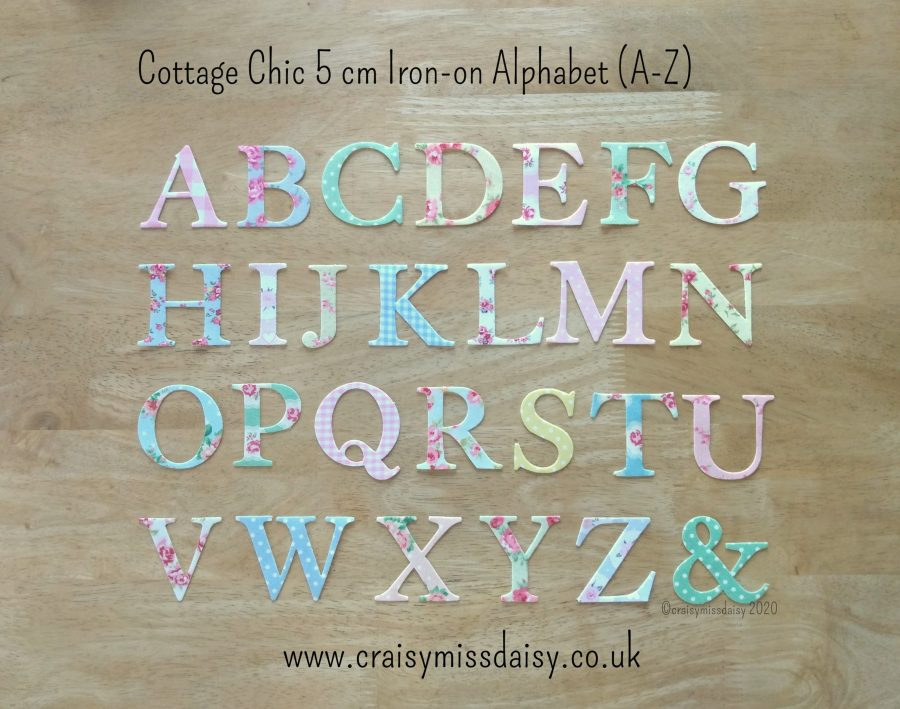 craisymissdaisy-cottage-chic-5-cm-iron-on-alphabet-A-Z