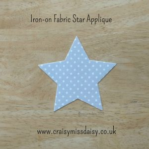 craisymissdaisy-iron-on-fabric-star large