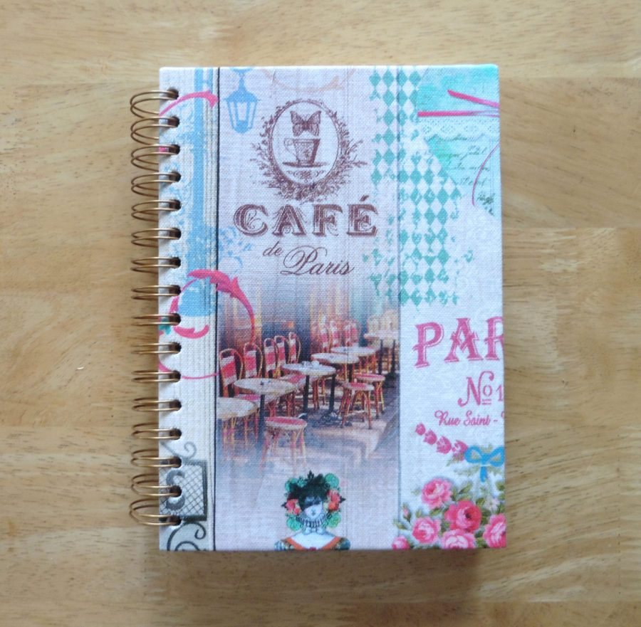 craisymissdaisy Serendipity Journal Vintage Style 1 (front cover)