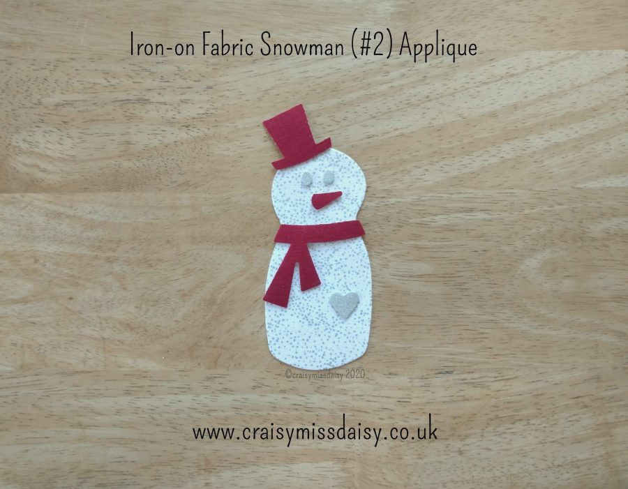 craisymissdaisy iron on fabric snowman 2