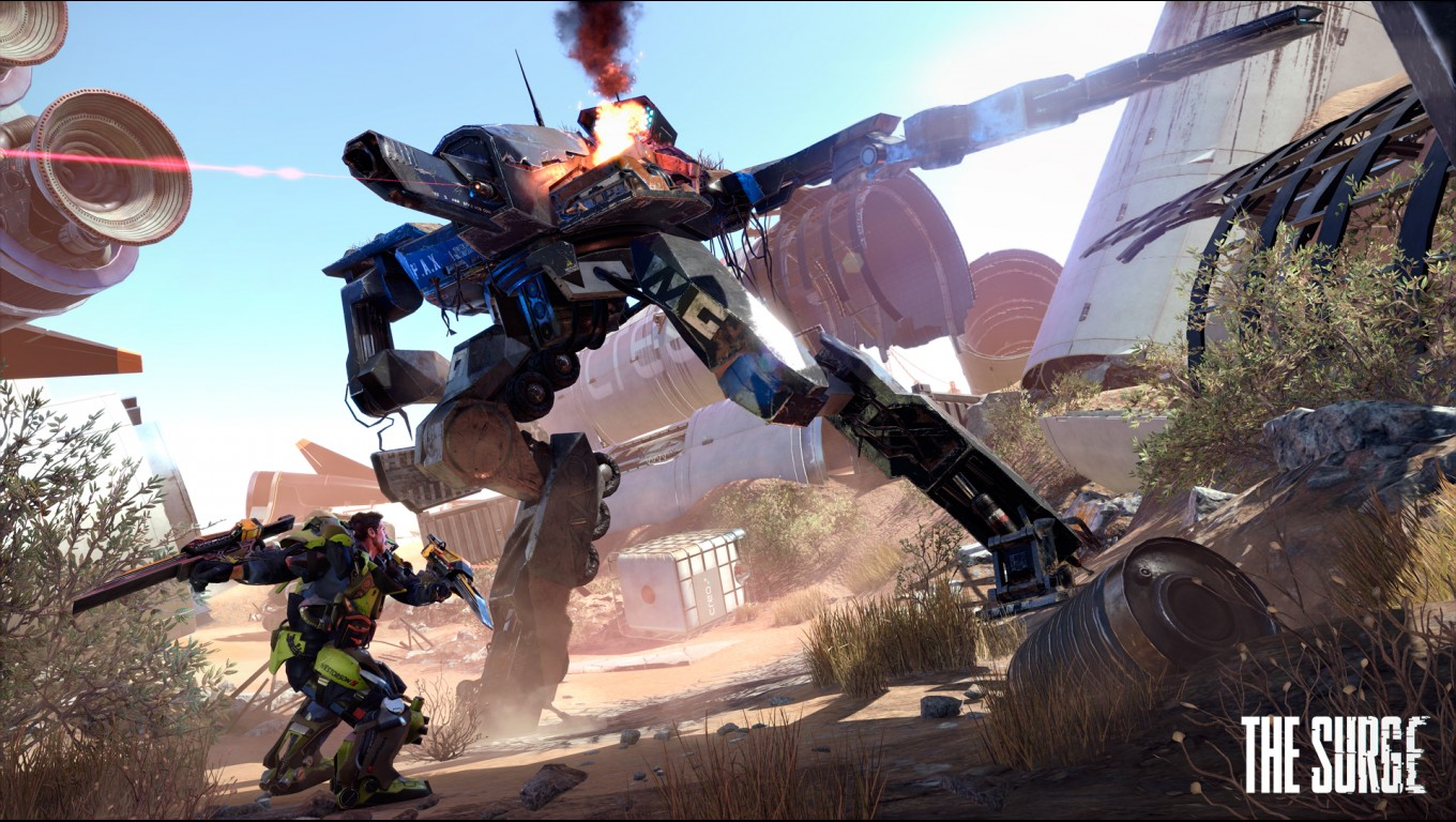 The Surge: Mechs and Exo-Suits Screens