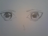 This is a toughie...yep, EYES!