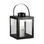 black iron lantern large
