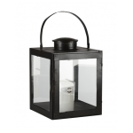 black iron lantern large