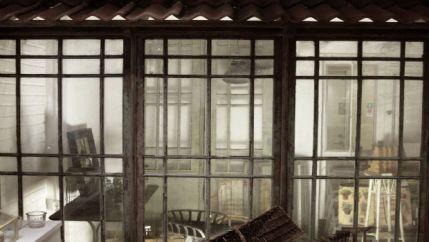 En glimt in i växthuset på cranberry corner