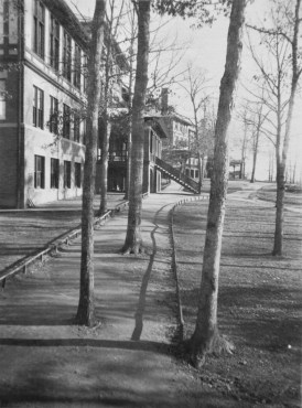 """""""On the campus, Asheville School, 1916"""""""