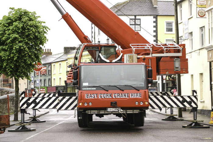 Crane maintenance and testing provided by East Cork Crane Hire
