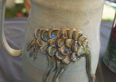 COP III | Handmade Crane Pottery by Susan Leise