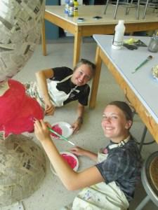 COP III Artist   Abbi Kolar and Emily Frieden