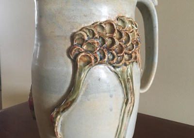 COP III | Handmade Crane Pottery by Susan Leise