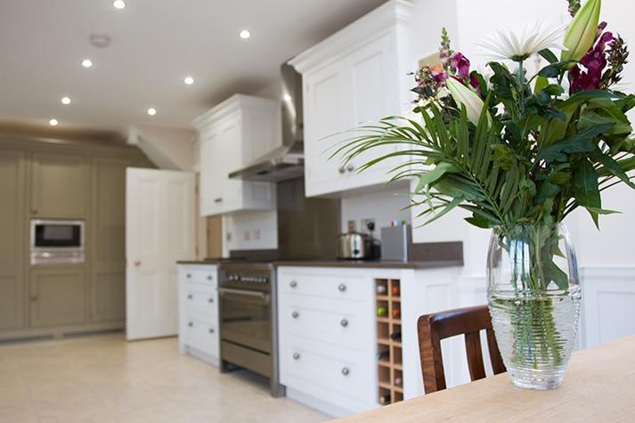 new build kitchen view