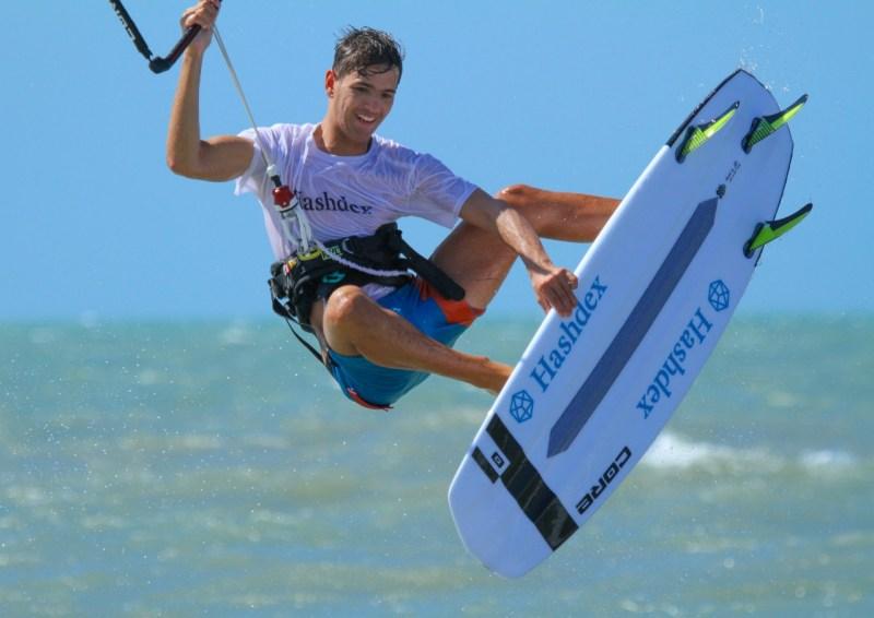 Gabriel Benetton atleta kitesurf hashdex