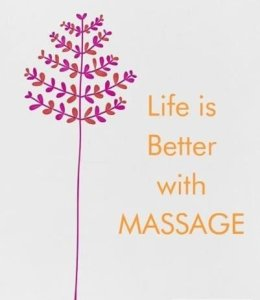 Life is better with Massage