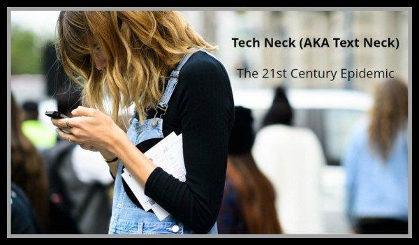 Massage for Tech Neck